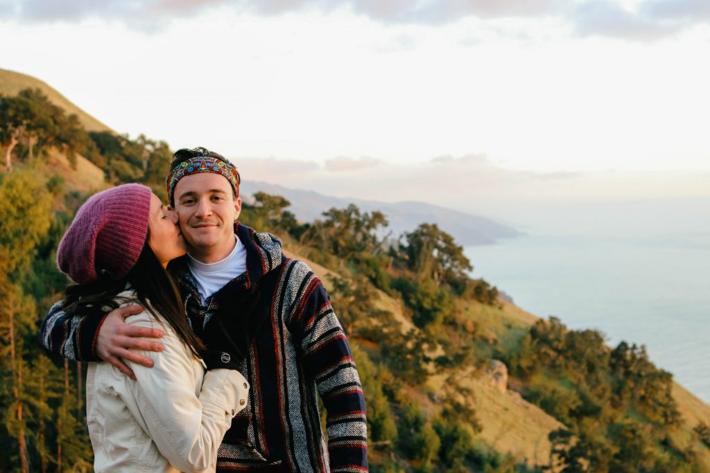 Big Sur Digital Detox Photo Kiss