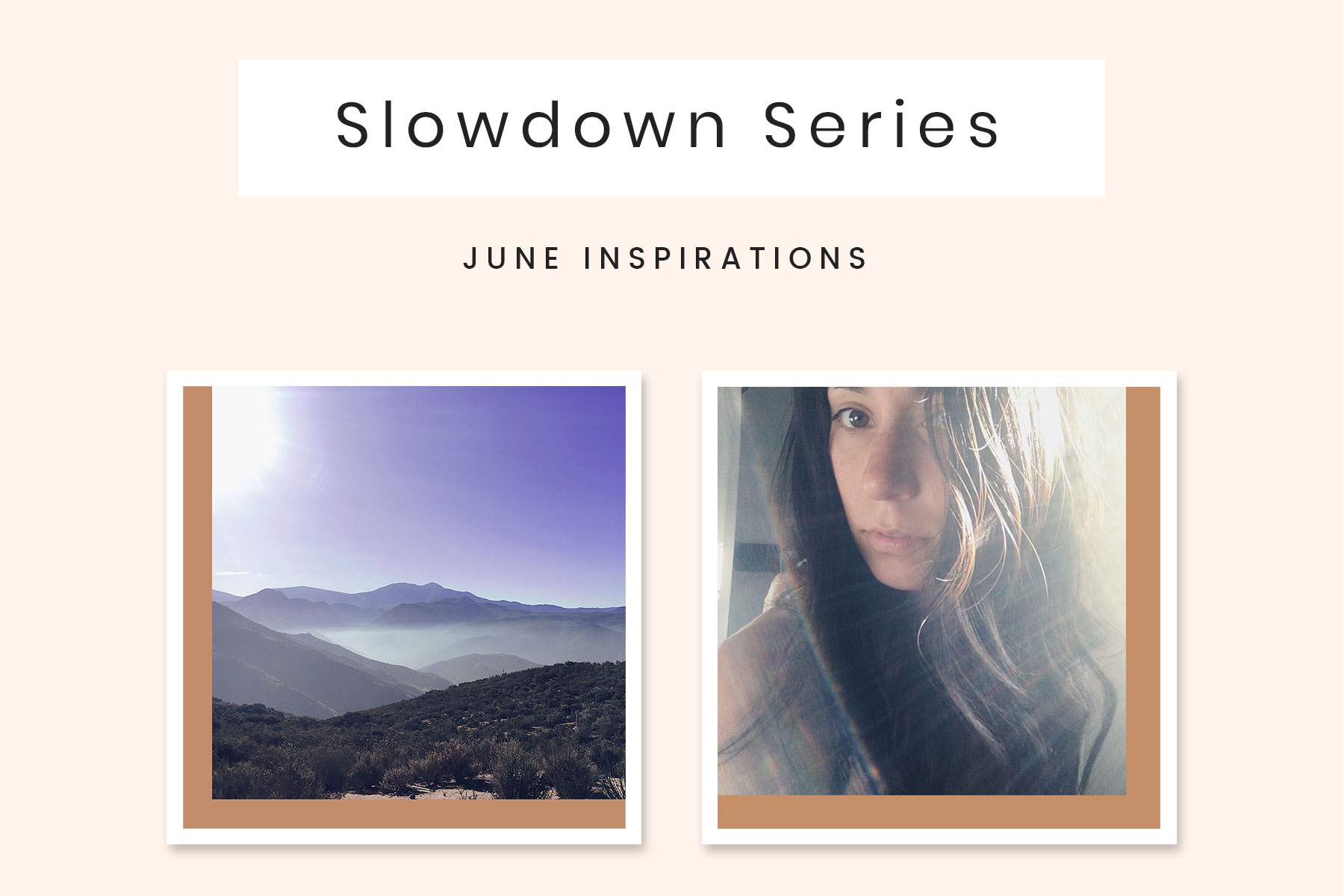 June Slowdown Series